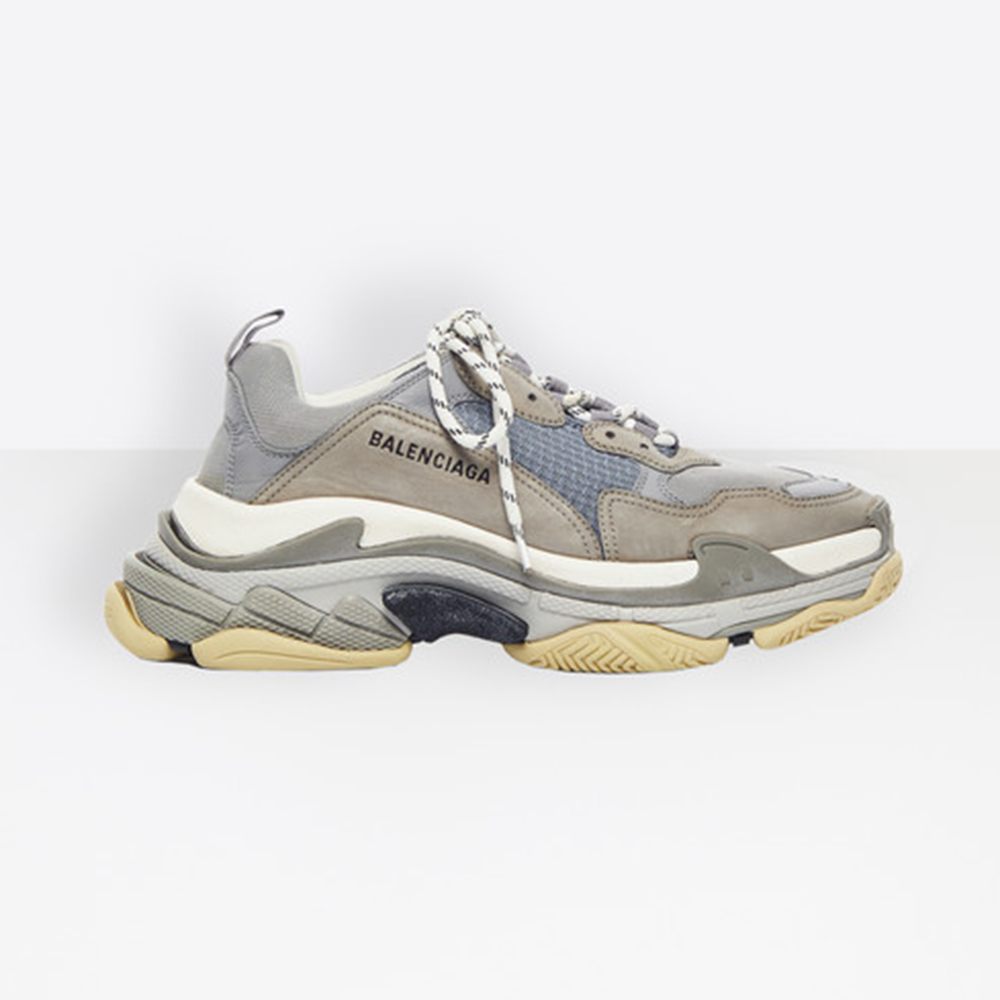 BALENCIAGA TRIPLE S - GREY