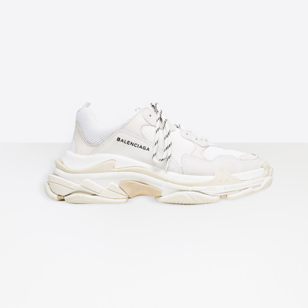 BALENCIAGA TRIPLE S - WHITE