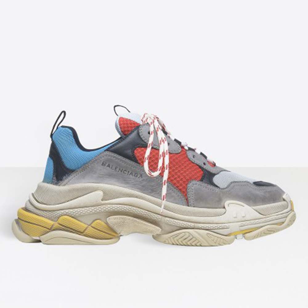 BALENCIAGA TRIPLE S - RED