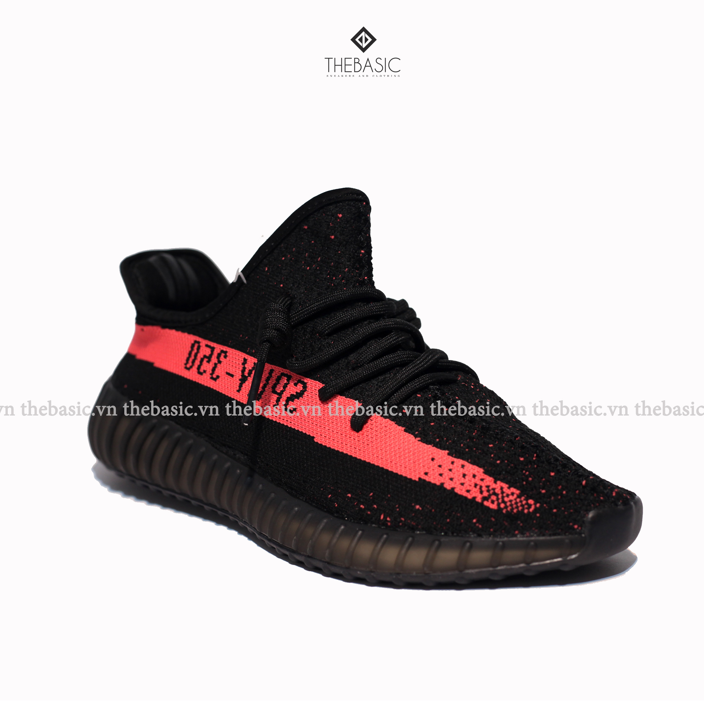 ADIDAS YEEZY 350 V2 - RED STRIPE